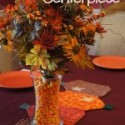 Fall Centerpieces with Candy Corn {30 Days of Thanksgiving Activities for Kids}