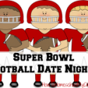 Super Bowl or Football Dates Nights {Marriage on Mondays}