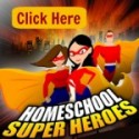 Kick-Off Day for Homeschool Super Heroes