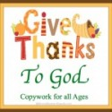 Give Thanks Prayer Journal & Copywork {30 Days of Thanksgiving Activities for Kids}