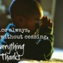 How Can You Become More Thankful During Advent Pt3 {30 Days of Thanksgiving Activities for Kids }