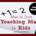 Teaching Math to Kids {Case Studies}