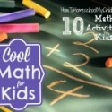 Cool Math for Kids {Weekend Links}