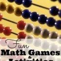 Fun Math Games & Activities {Weekend Links}