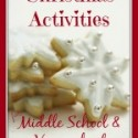 Christmas Activities for Middle School & Elementary HomeSchool