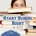 Start School Right in 2015 {FREE Workshop}