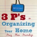 10 Home Organization Tips for Homeschoolers {Part 1}
