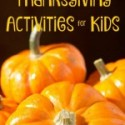 30 Days of Thanksgiving Activities for Kids