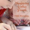 19 Thanksgiving Writing Prompts