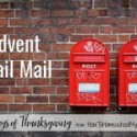 Advent Snail Mail
