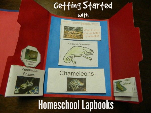 getting started with homeschool lapboks - find out how from HowtoHomeschoolMyChild.com