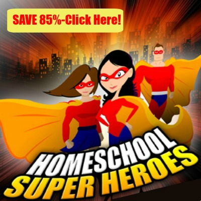 Save over 85% on all 5 years of Homeschool Super Hero interviews - That's 74 interviews and less than 50 cents each