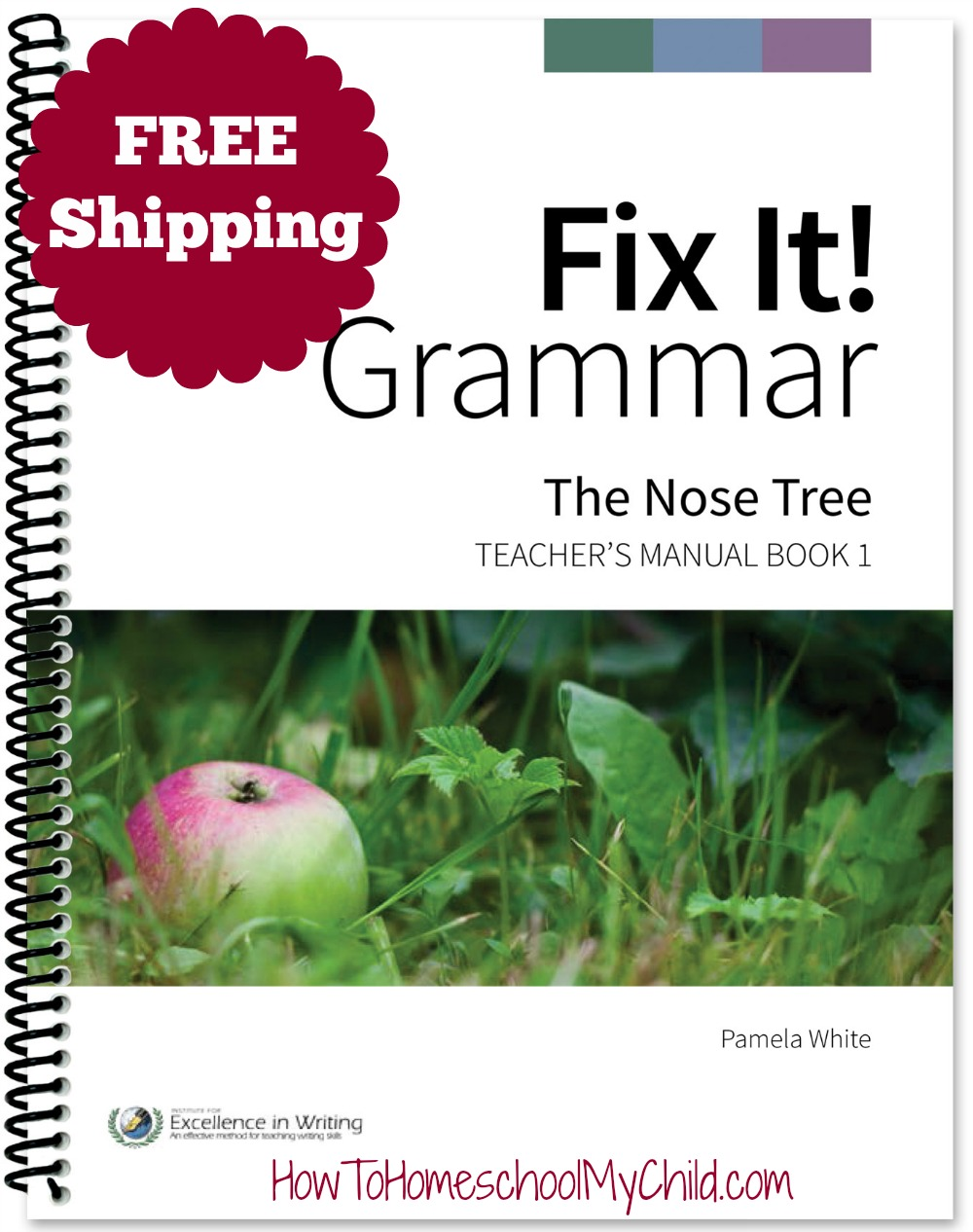 Fix It 1 - Nose Tree ~ learning English grammar the Best way from HowToHomeschoolMyChild.com