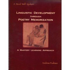 IEW Linguistic Development Through Poetry Memorization