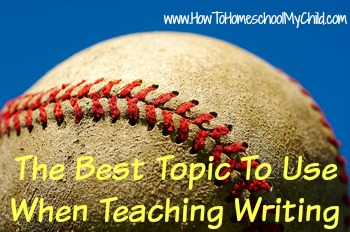 Baseball for Student Writing Intensive