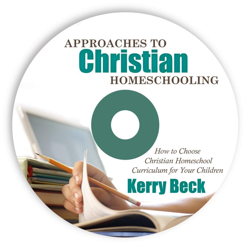 approaches to Christian homeschooling - video workshops | HowToHomeschoolMyChild.com