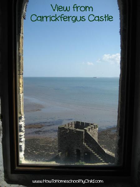 St Patricks Day -View from Carrickfergus