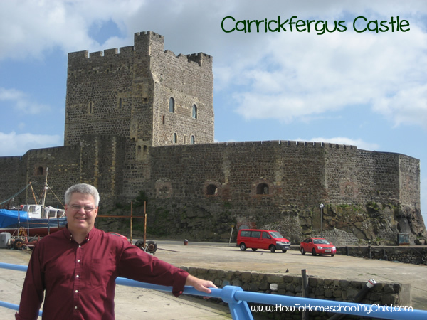 St Patricks Day -Carrickfergus