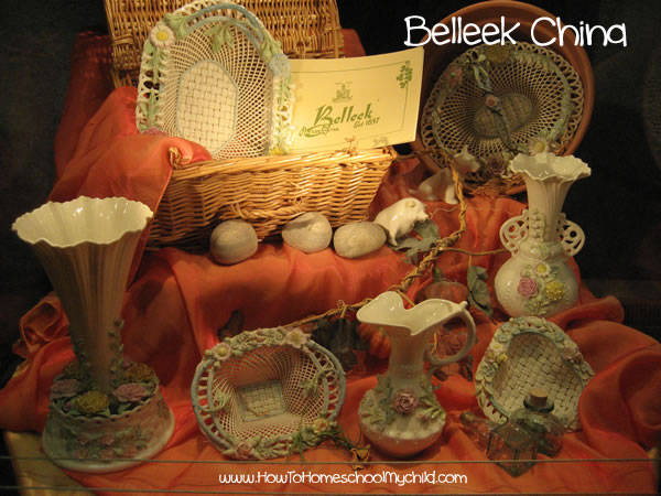 St Patricks Day Belleek China