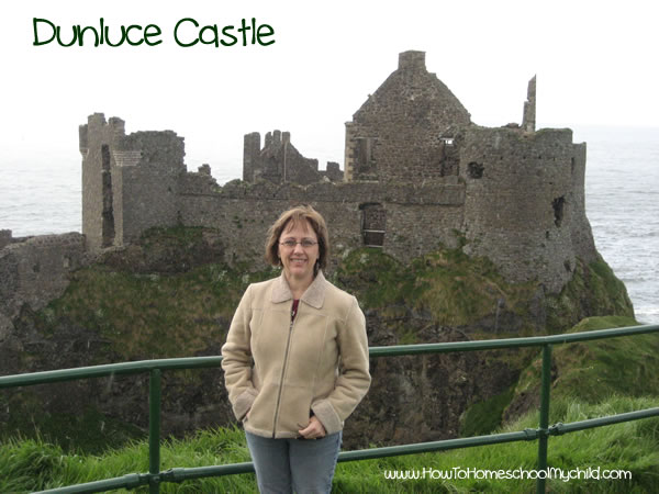 St Patricks Day Dunluce Castle