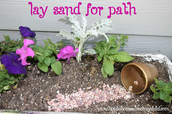 Easter Crafts - Easter Garden Path