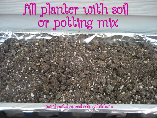 Easter Crafts - Easter Garden Soil