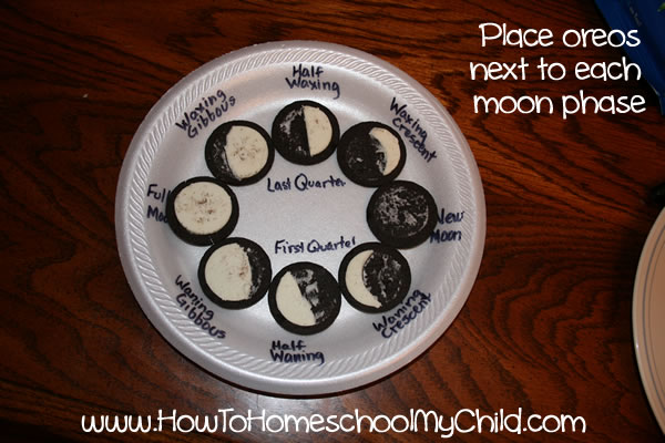 Oreo Phases of the Moon 2
