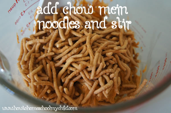 Easter Treats - Easter Birds Nests Recipe - Chow Mein Noodles