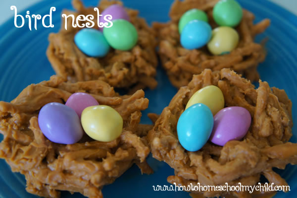 Easter Treats - Easter Birds Nests Recipe - Group