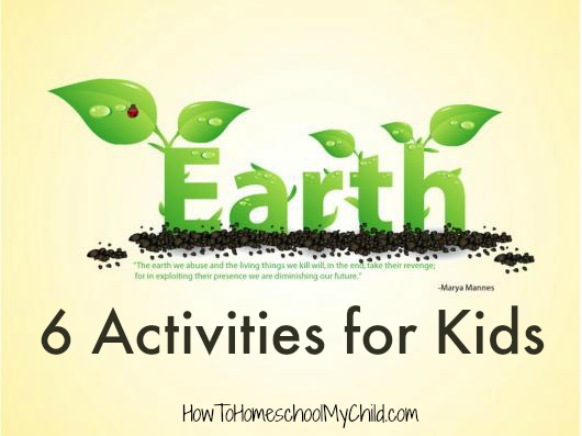 Earth Day Activities for Kidds