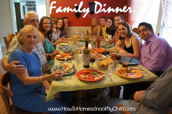 The Family Dinner Ideas - becks