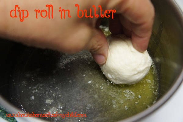 Easter Traditions Resurrection Rolls - Dip in butter