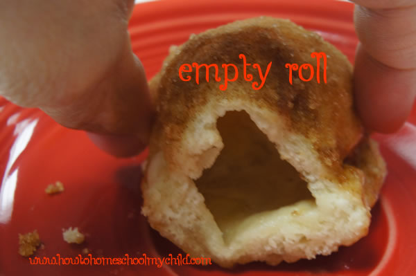 Easter Traditions Resurrection Rolls - Empty