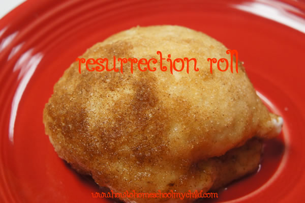 Easter Traditions Resurrection Rolls - single
