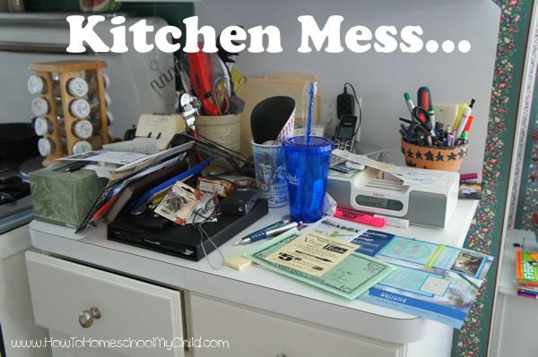 Home Organization - kitchen