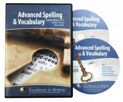 Advanced Spelling & Vocabulary IEW Excellence in Spelling - Vocabularly Tests