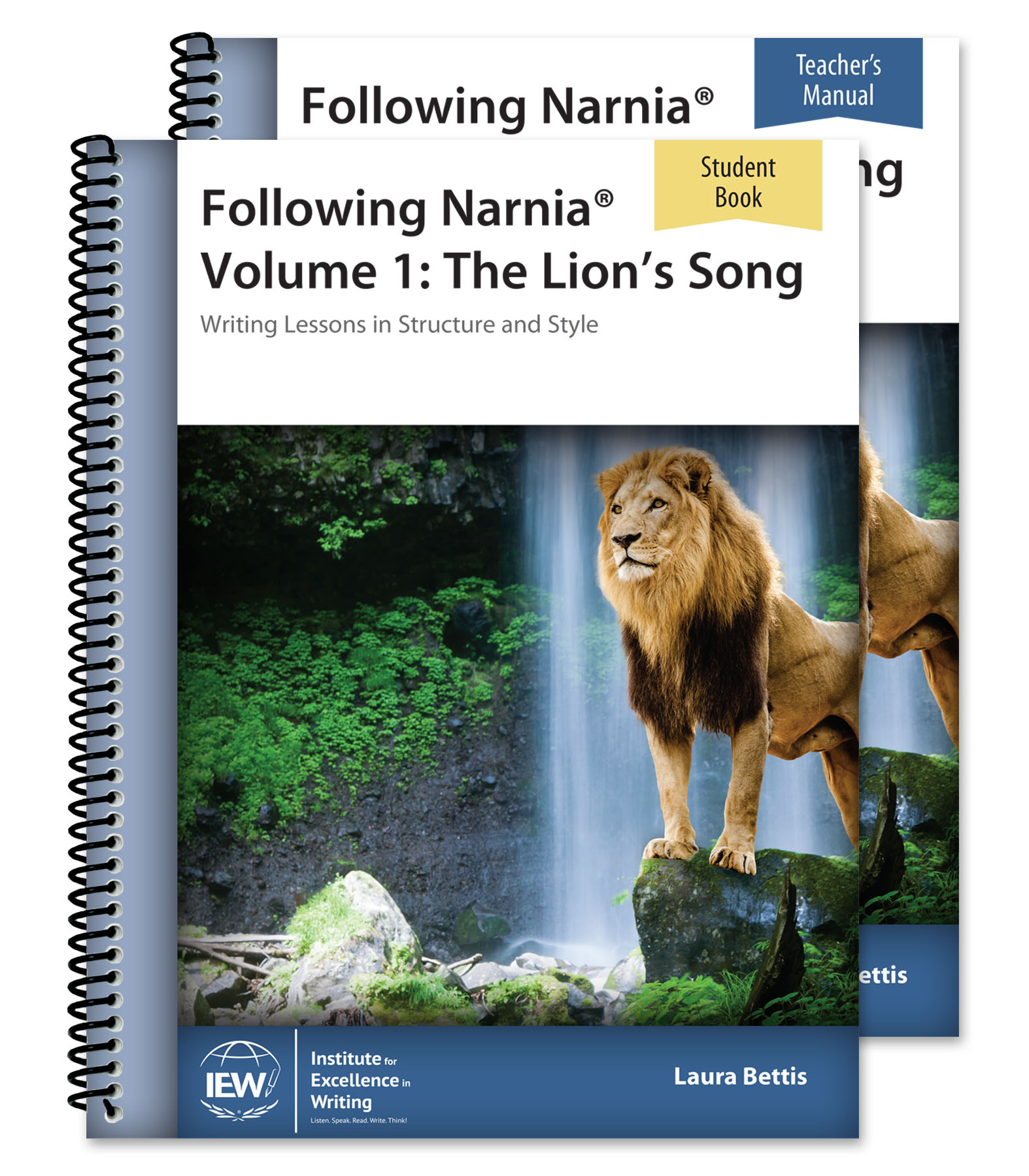IEW - Following Narnia Combo: Writing Lessons in Structure & Style
