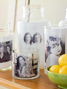 Mothers Day Craft Photo in a jar