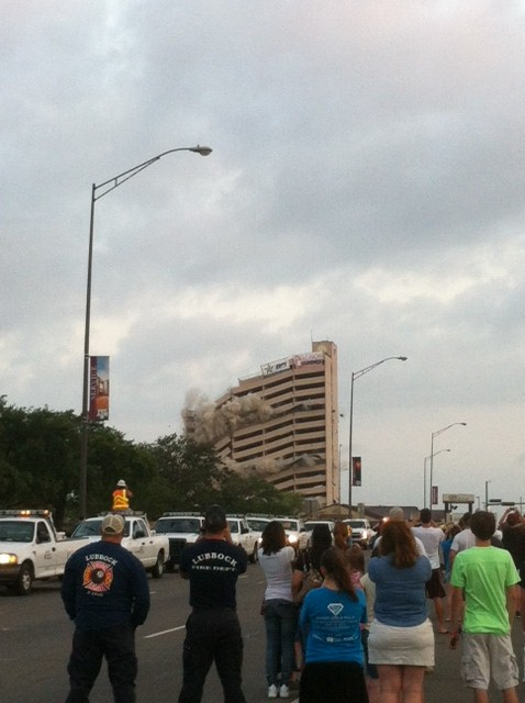 Implosion of Plaza Amy Supak