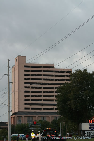 Implosion of Plaza