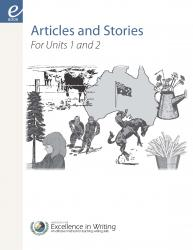 IEW - articles & stories for units 1&2