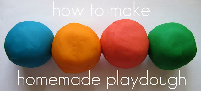 Summer Activities for Kids - homemade playdough