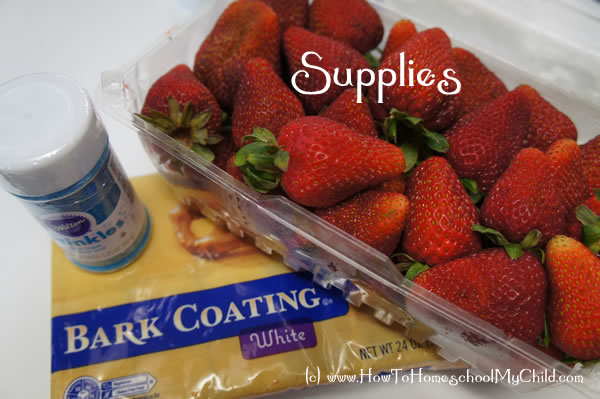 4th of July Recipes - Supplies