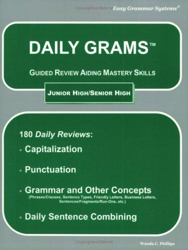 Daily Grams How to Homeschol Grammar