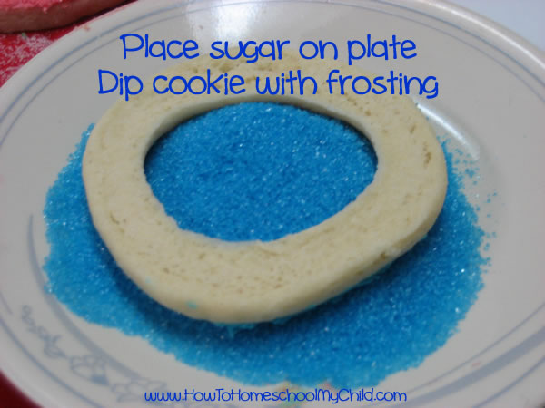 Olympic Activities for Kids - ring sugar