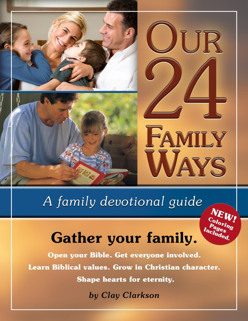 a family favorite: Our 24 Family Ways Wholeheart Ministries by Sally Clarkson, recommended by HowToHomeschoolMyChild.com