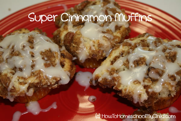 Brown Sugar Cinnamon Muffins - 3