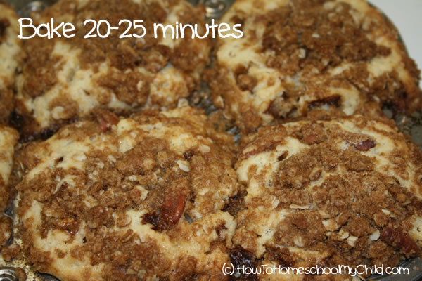 Brown Sugar Cinnamon Muffins - bake
