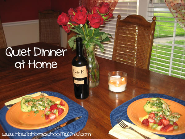 How to Homeschool My Child marriage meals