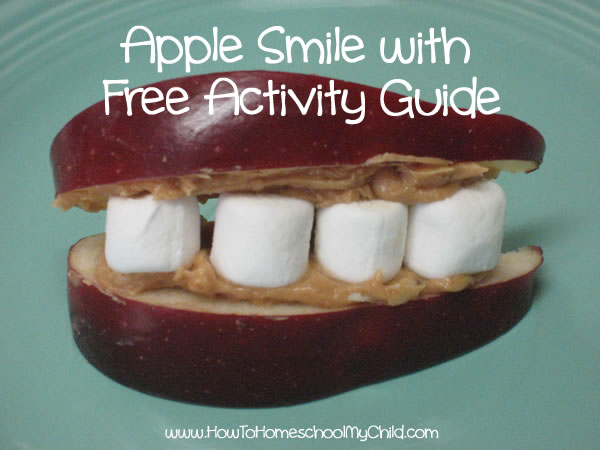 Johnny Appleseed Activities - smile activity guide